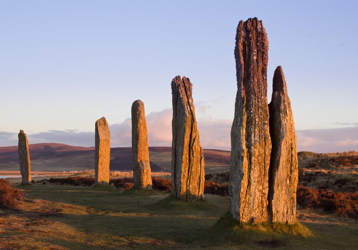 The Ring of Brodgar standing stone circle