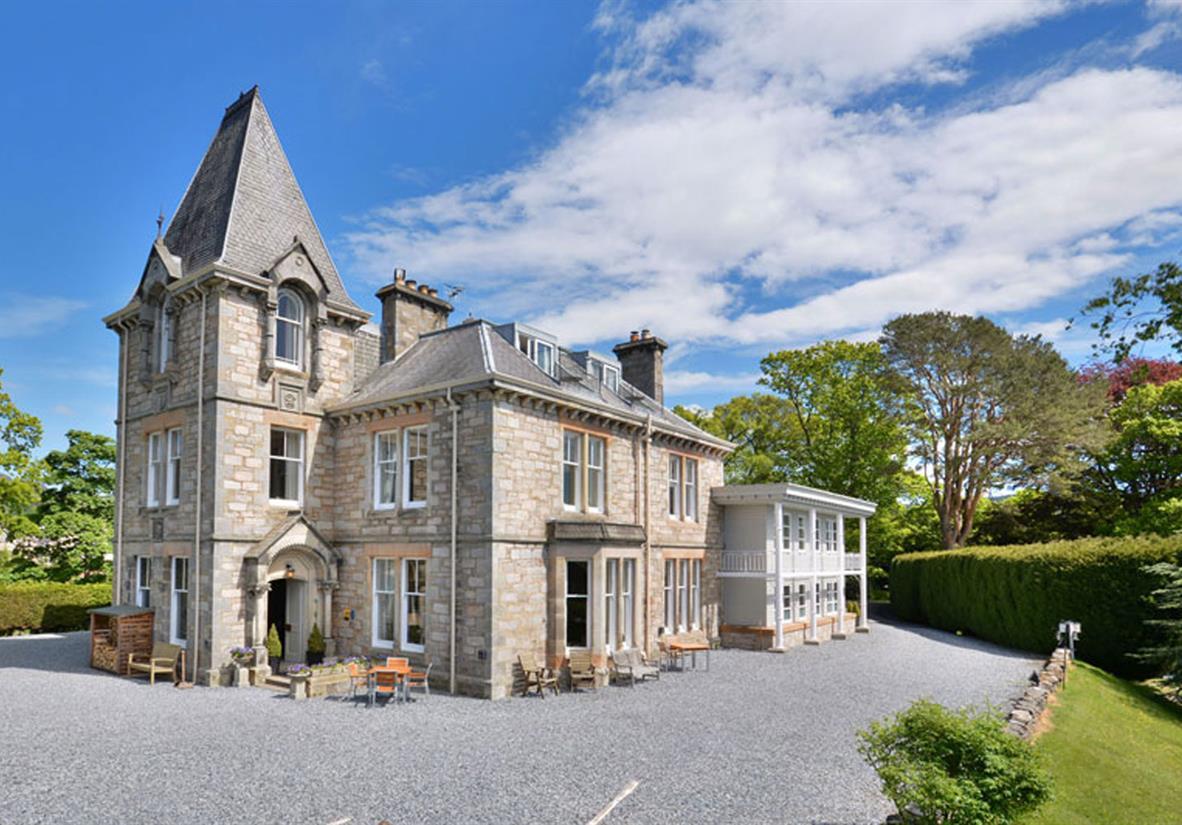 Knockendarroch Hotel in Pitlochry
