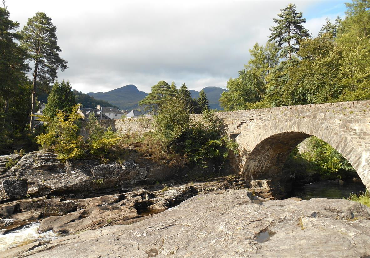 Falls of Dochert, Killin