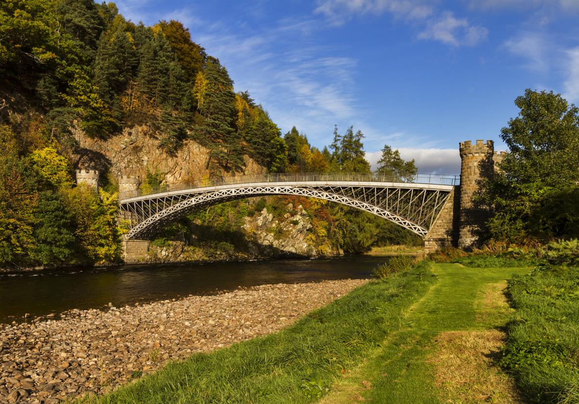 Thomas Telford's bridge across the River Spey
