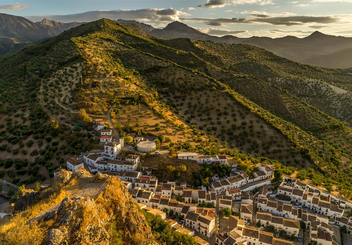 Unique landscape of the stunning Andalucia region