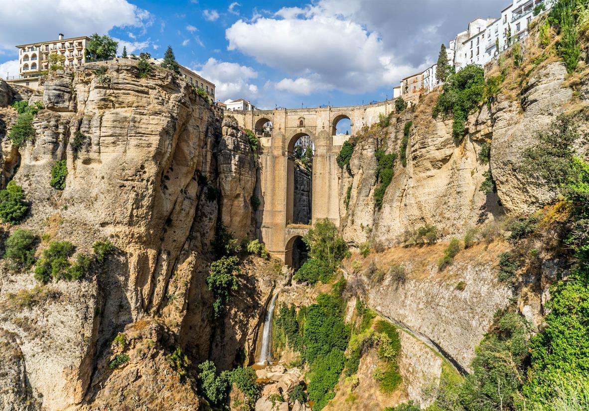 The amazing Puente Nuevo bridge in Ronda