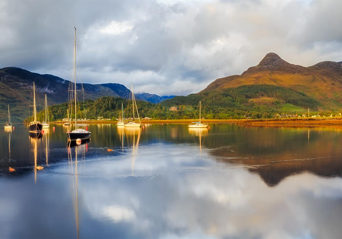 Loch Leven from Glencoe village
