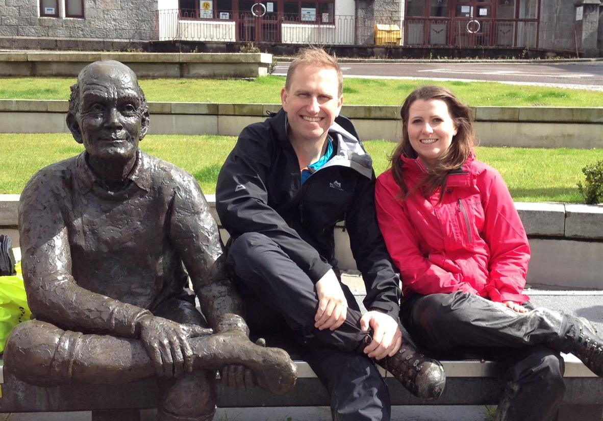 Completing the West Highland Way!