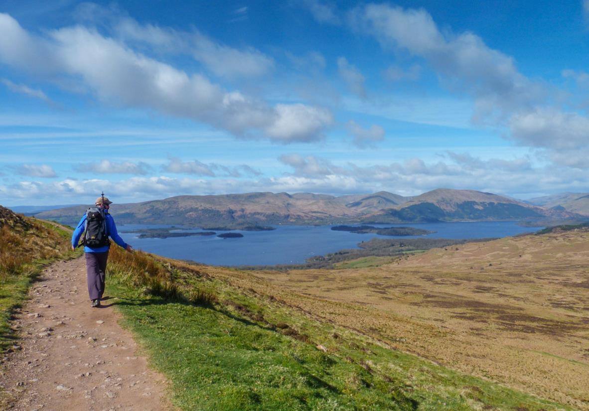 Großartige Aussichten über Loch Lomond