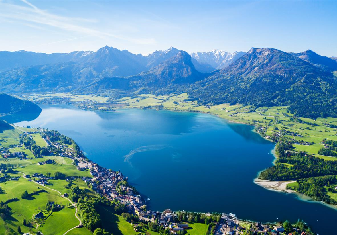 Spectacular Lake Wolfgang