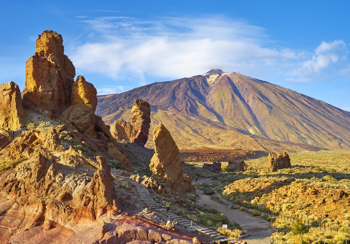 Walk Mount Teide to the Coast in Tenefife