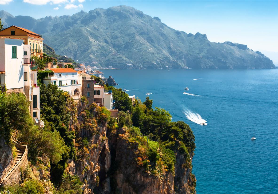 Amalfi-Küste Berge
