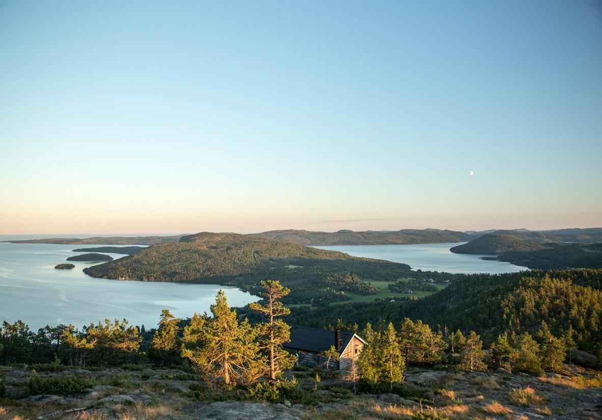 The stunning panaromic views from High Coast Trail