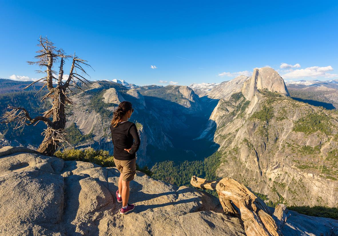 Glacier Point, a must see when visiting Yosemite