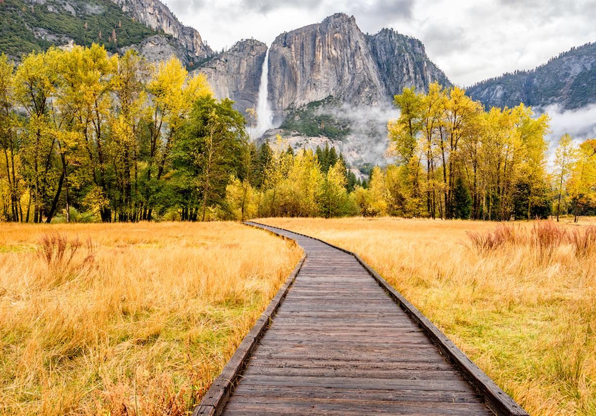 Yosemite Falls, a true gem of the Park
