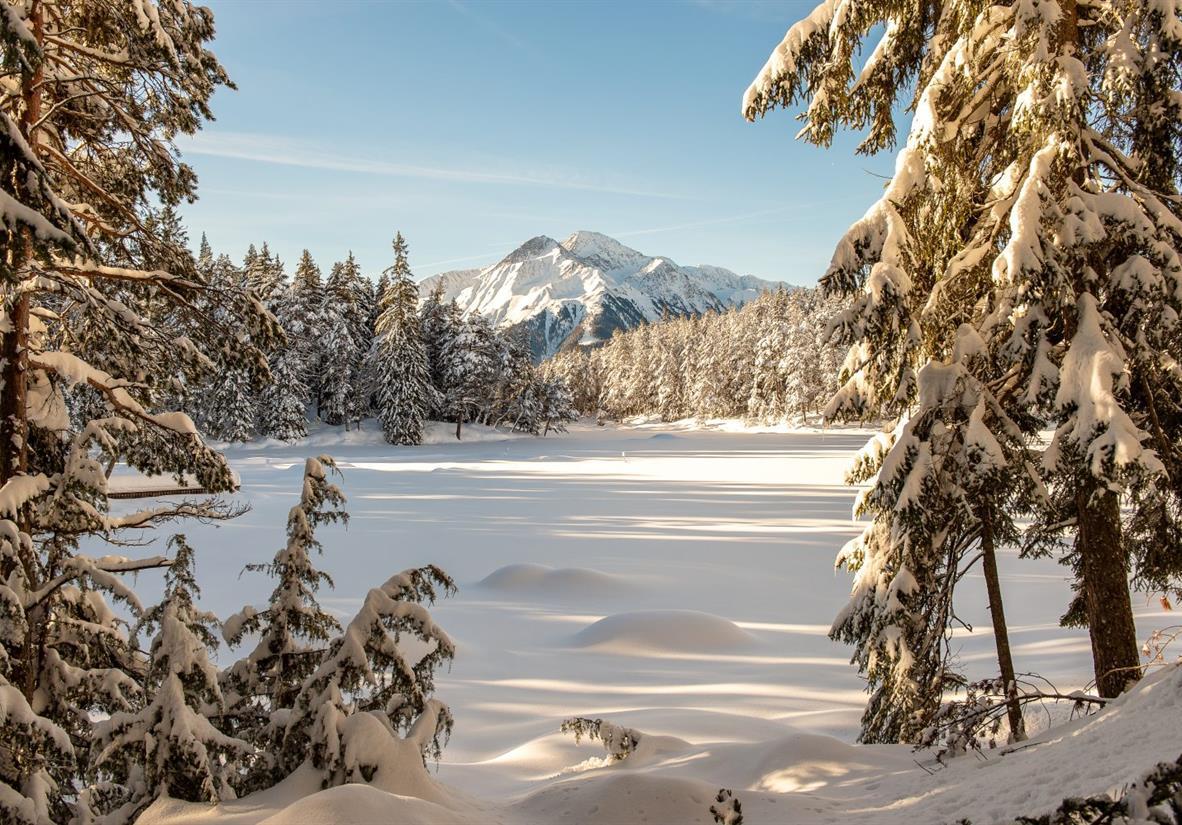 Möserer See im Winter ©TBV Seefeld-J.Geyer