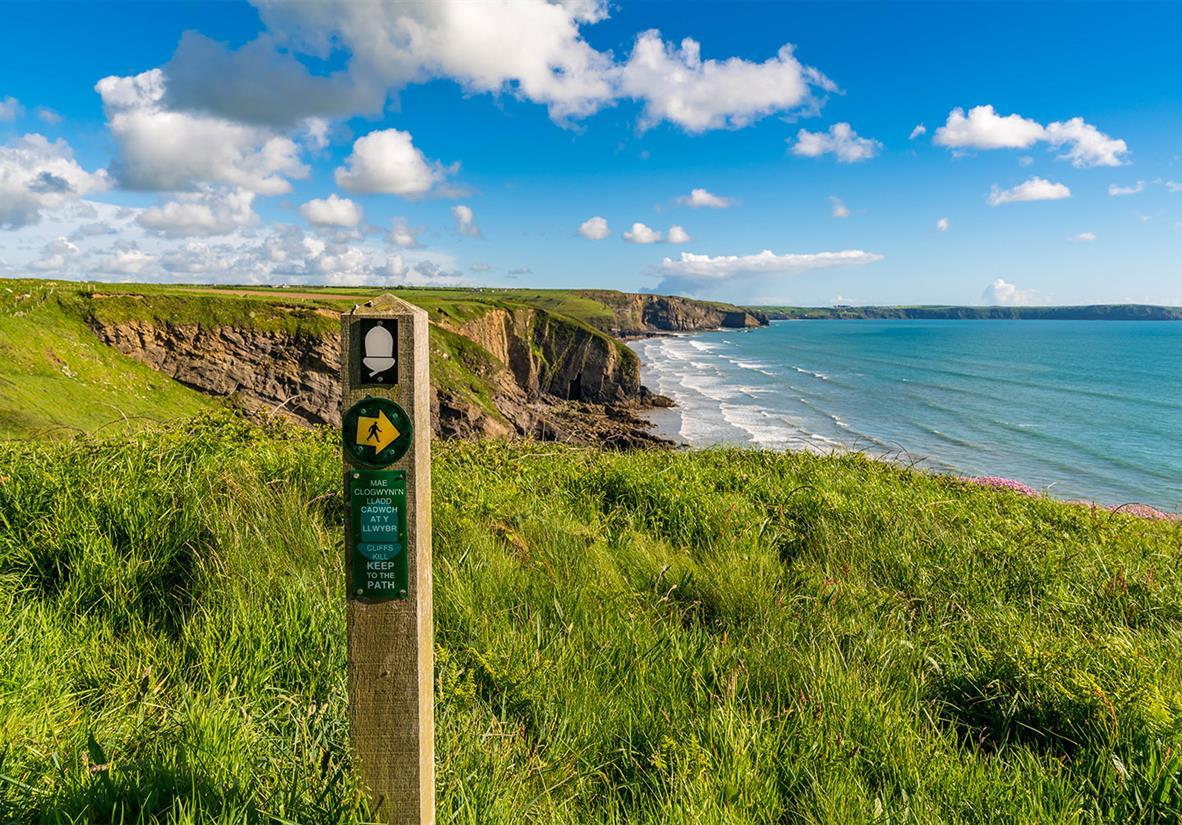 Walk the Pembrokehsire Coast path