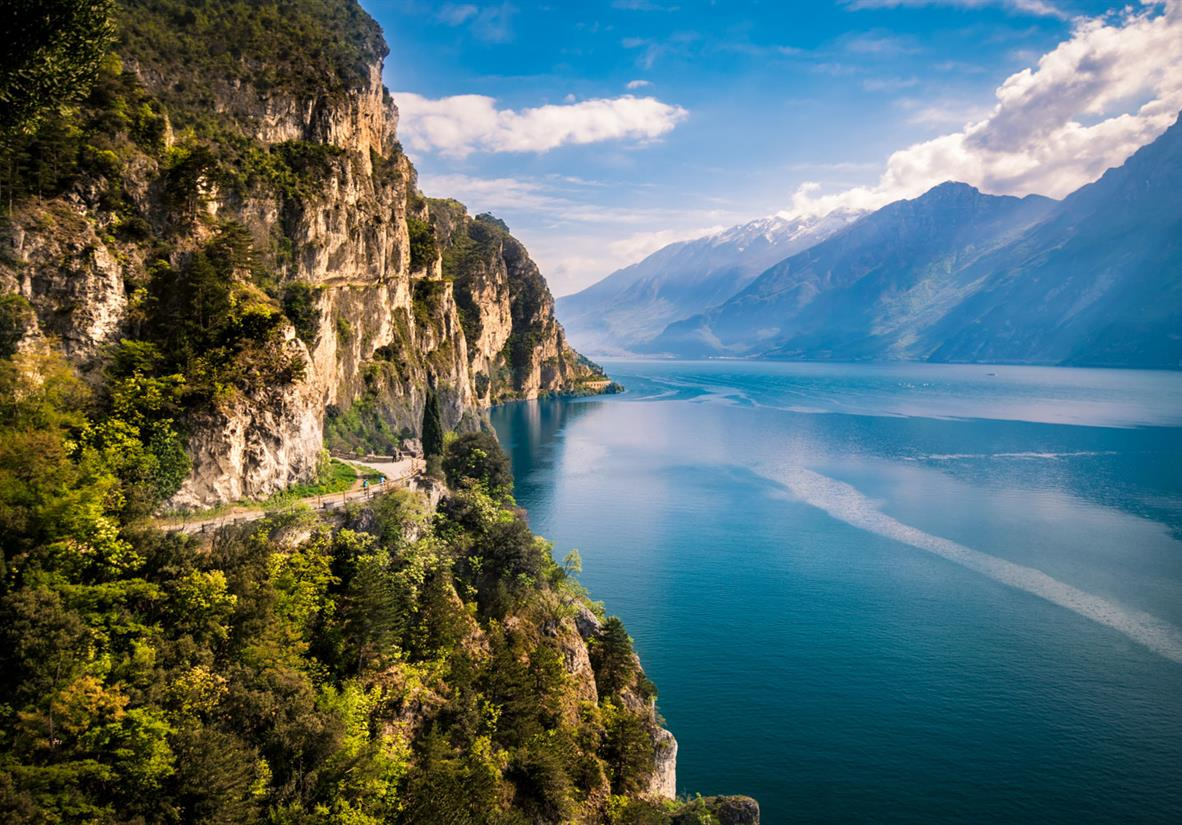 Brenta-Dolomiten zum Gardasee