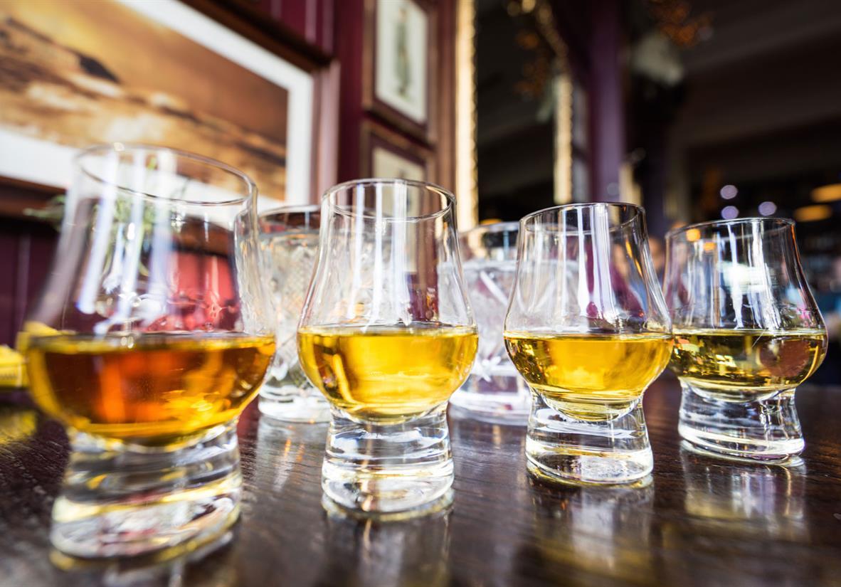 Sample a dram of whisky