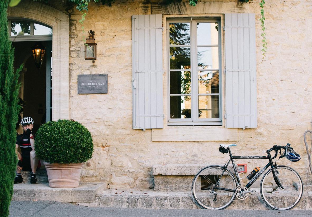 The beautiful 5* Crillon le Brave Hotel