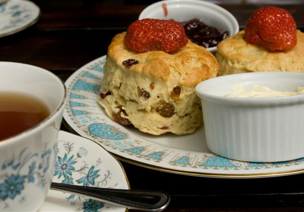 indulge in the classic English cream tea