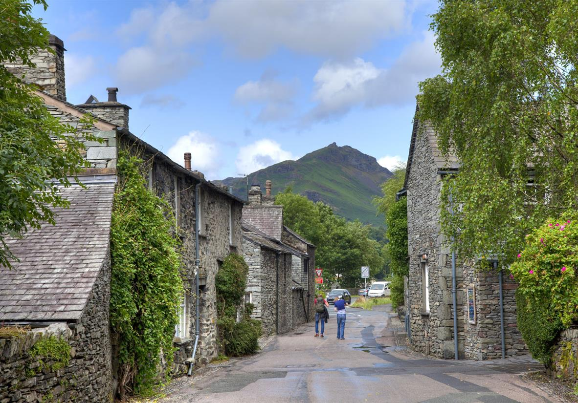 The picturesque village of Grasmere