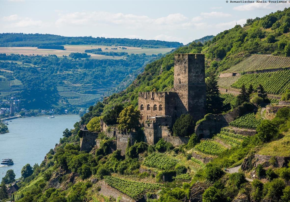 Fotograf: Henry Tornow, Burg Gutenfels