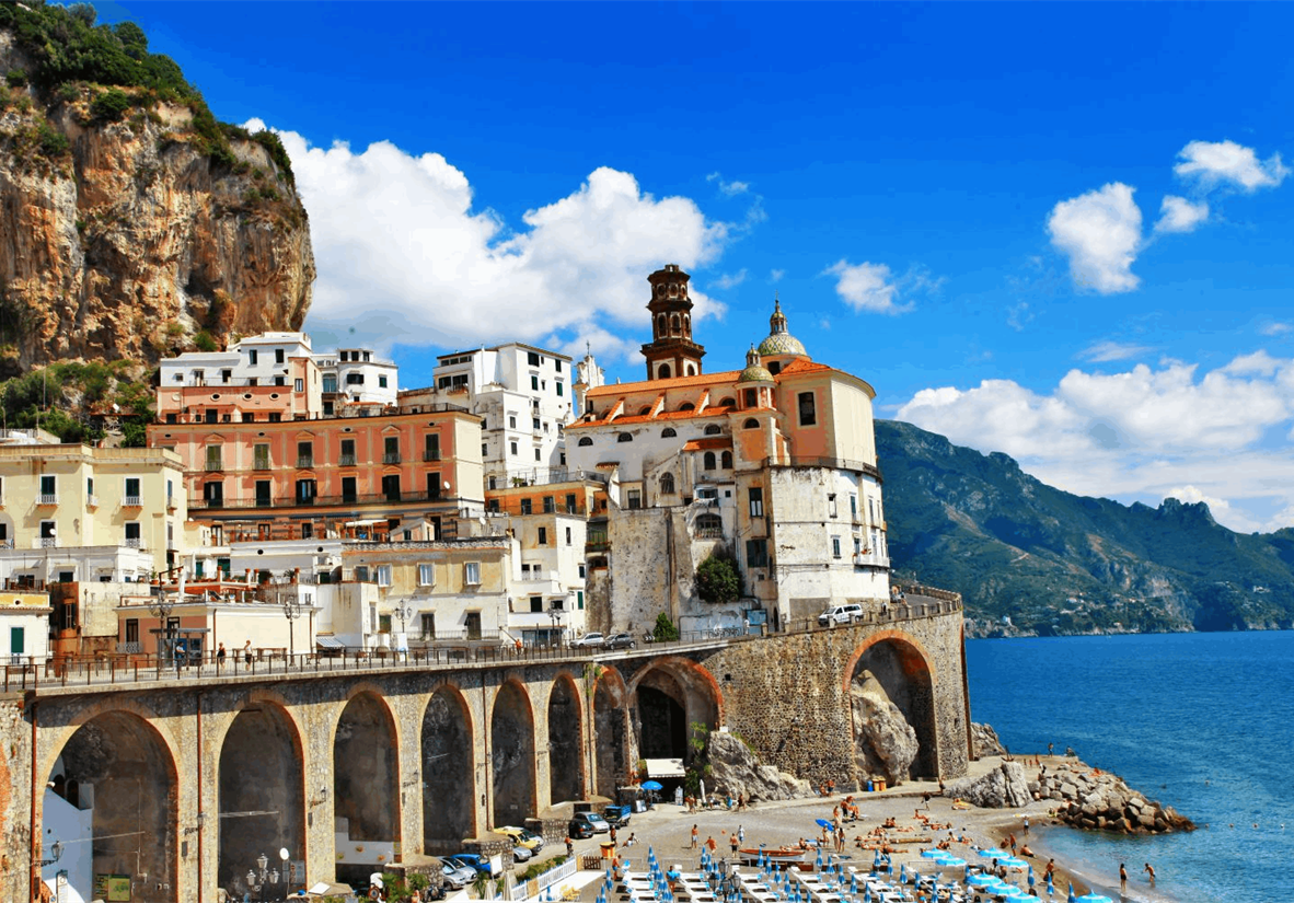 Atrani, neighboring Amalfi