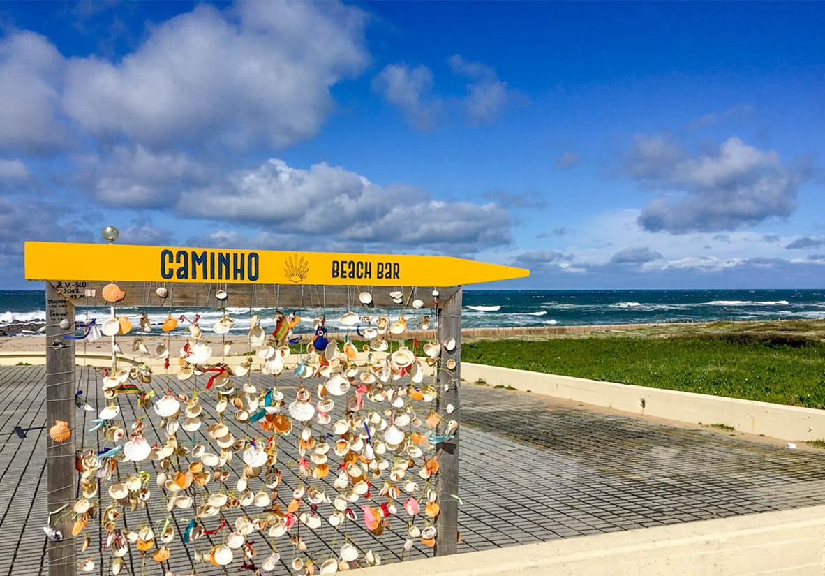 Walk Stage 1 of the Camino Portugues Coastal Way