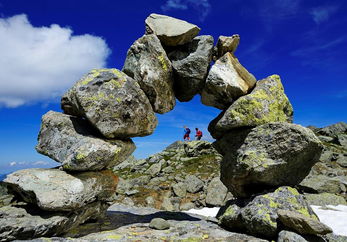 Wandern auf dem Tiroler Adlerweg