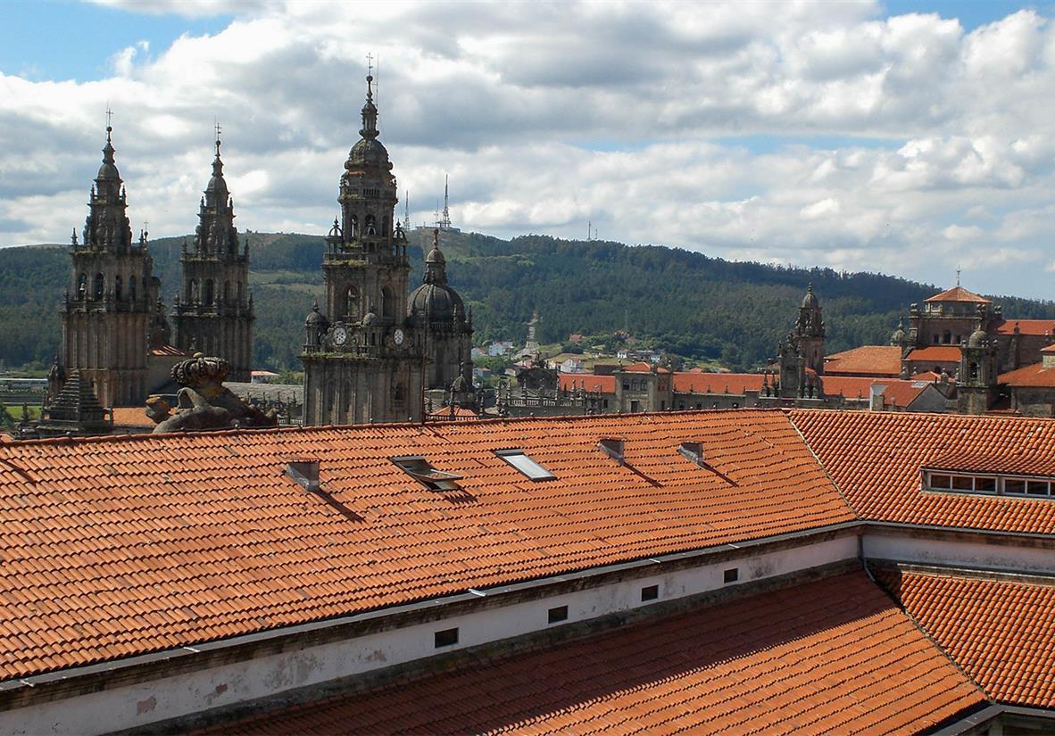 Visit the iconic Santiago de Compostela Cathedral