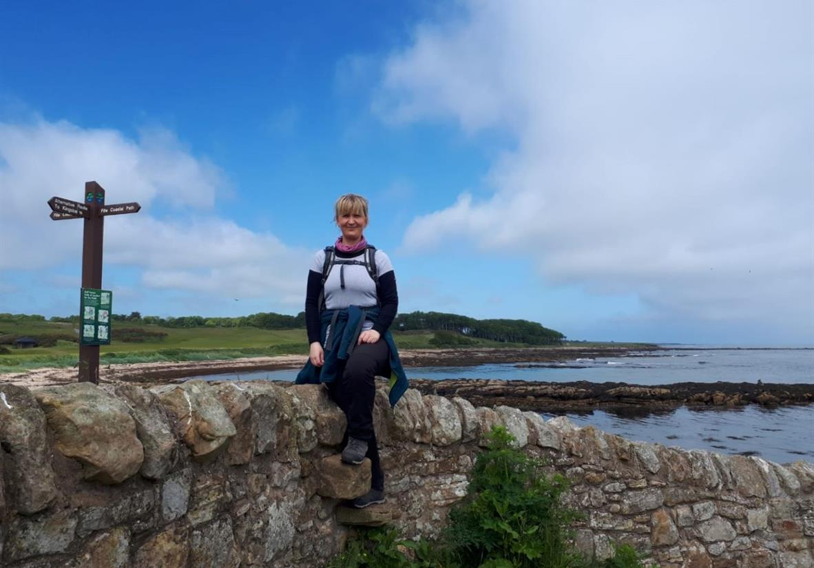 Walking the Fife Coastal Path