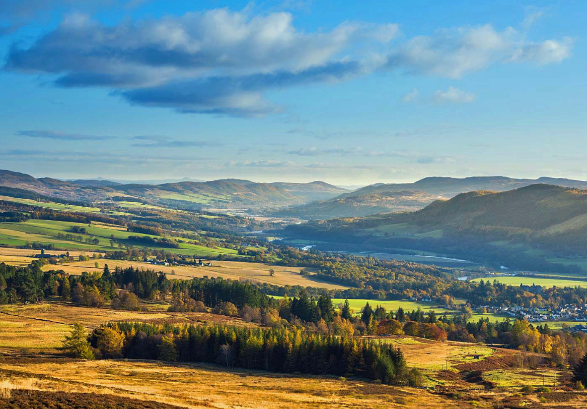 Perthshire's autumnal colours