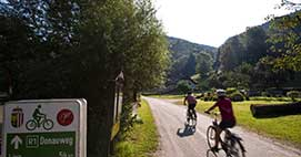 Flat Cycle Routes