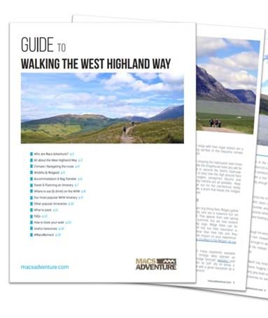 Download your Free West Highland Way Guide