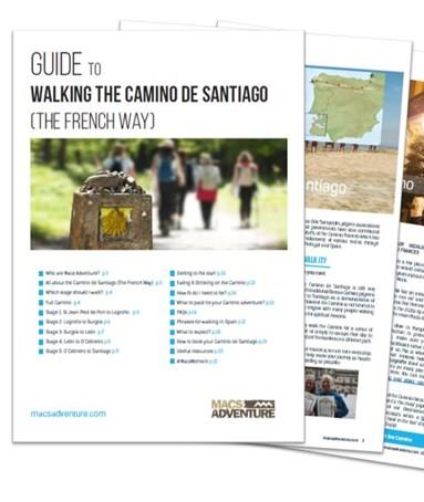 Download our Free Camino Guide