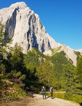 Wandern durchs Karwendel: Garmisch - Innsbruck
