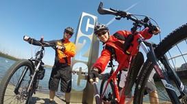 How fit do I need to be for the C2C cycle tour?