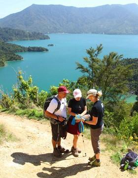 Lodge-Wandern ohne Gepäck