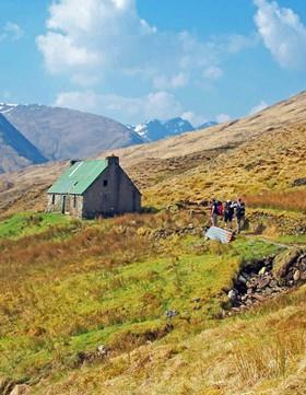 Trekking und Wandern in den Highlands