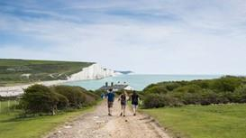 The South Downs and the magnificent Seven Sisters Cliffs