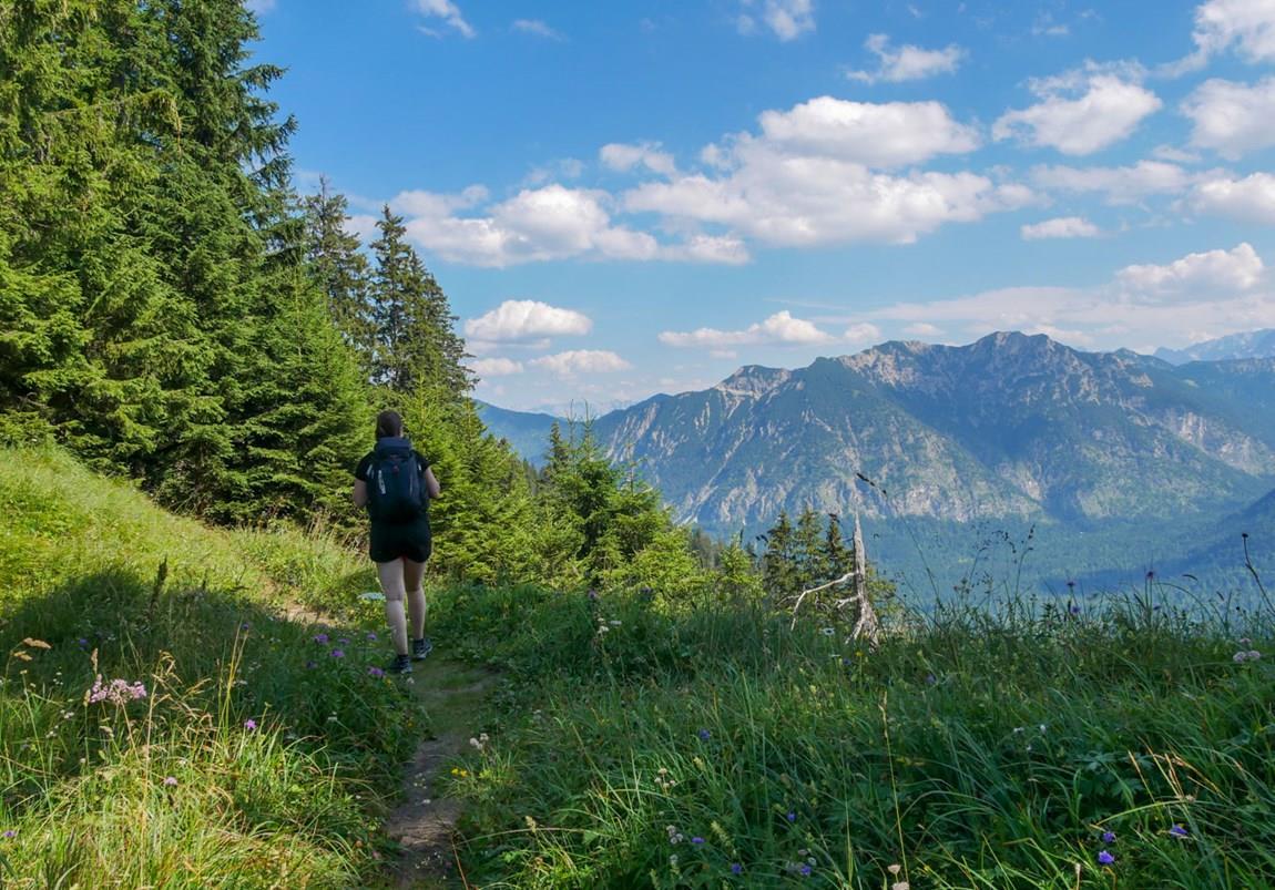 Panoramaweg bei Garmisch-Partenkirchen